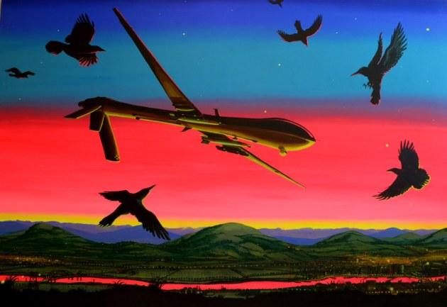 jakob-de-jonge-i-have-a-drone-170-x-250-cm-acryl-op-doek