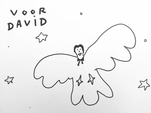 Kamagurka leert David vliegen